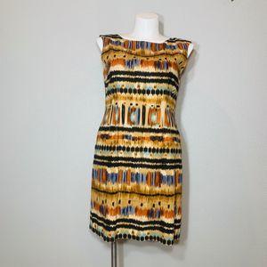 Tahari Fitted Shift Dress